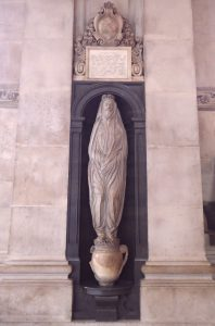 Donne's monument in St. Paul's Cathedral, present day