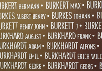 L'Anneau de la Mémoire: Names of casualties without any indication of nationality