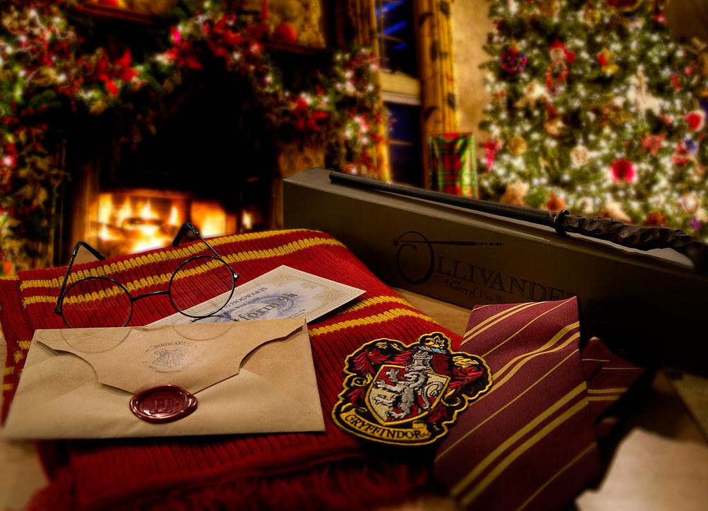 картинки на рабочий стол гарри поттер рождество